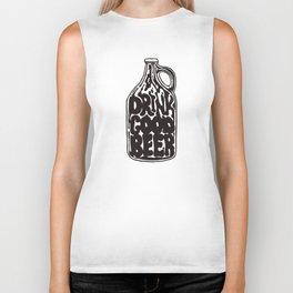 Drink Good Beer Biker Tank