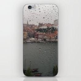 A Rainy Day in Porto iPhone Skin