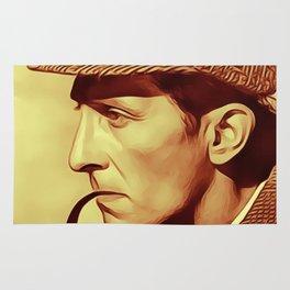 Peter Cushing as Sherlock Holmes Rug