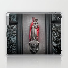 Our Lady Of The Red Cape Laptop & iPad Skin