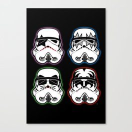 Kiss Troopers Canvas Print