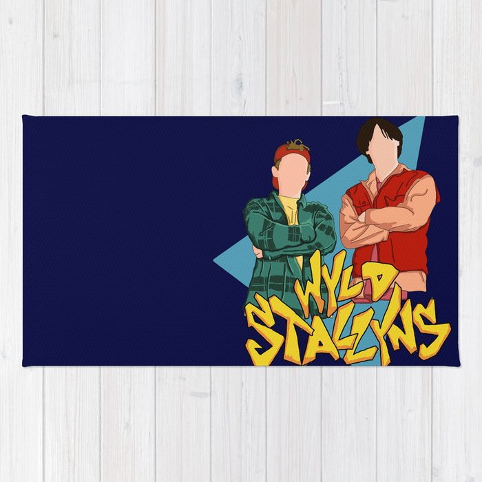 Bill and Ted Wyld Stallyns Rug