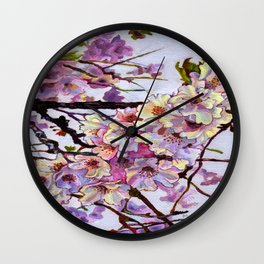 The Cherry Branch Wall Clock