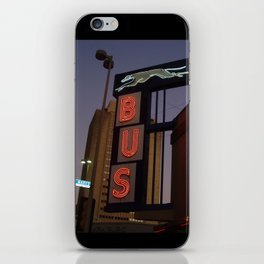 San Antonio Bus Station iPhone Skin
