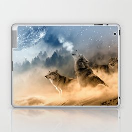 Moonrise Howl Laptop & iPad Skin