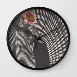 Forced Zones Wall Clock