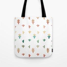 Colorful Boho tree pattern Tote Bag