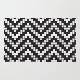 Herringbone Weave Seamless Pattern. Rug