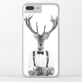 DIEGO WILD Clear iPhone Case
