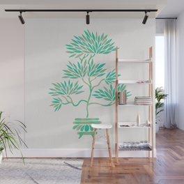 Bonsai Tree – Mint Palette Wall Mural
