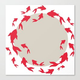 Koi-koi fish Canvas Print