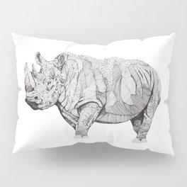Northern White Rhino Pillow Sham