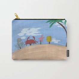 Above Bikini Bottom Carry-All Pouch