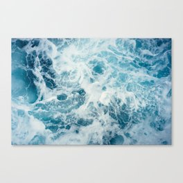 Sea Swirl Canvas Print