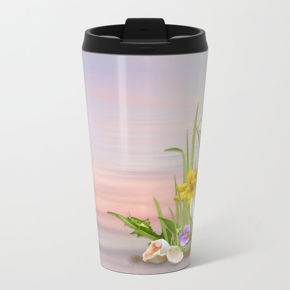 Spring Flowers Travel Cup TRM8843607