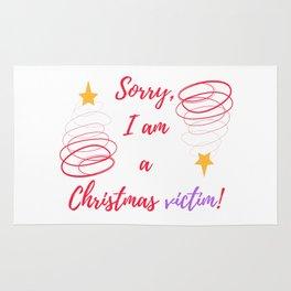A Christmas vict Rug