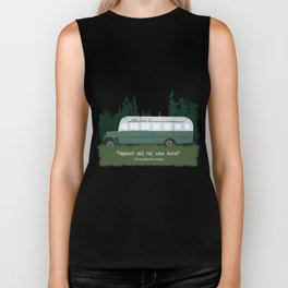 Into The Wild - Magic Bus Biker Tank