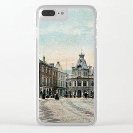 Fore Street Tiverton Devon 1890s Clear iPhone Case