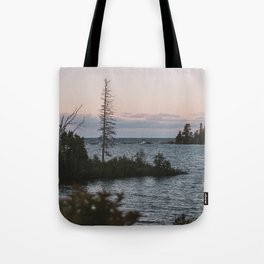 The View From Copper Harbor Tote Bag