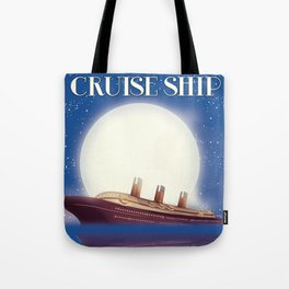 Travel the world by Cruise Ship Tote Bag