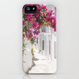 White washed iPhone Case