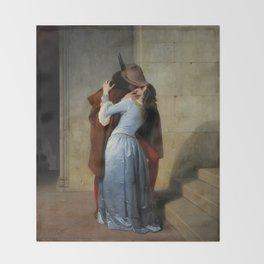 The Kiss (Il Bacio) - Francesco Hayez 1859 Throw Blanket