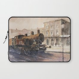 An old locomotive Laptop Sleeve