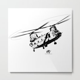 Chinook Metal Print