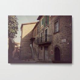 Italian classic town view Metal Print