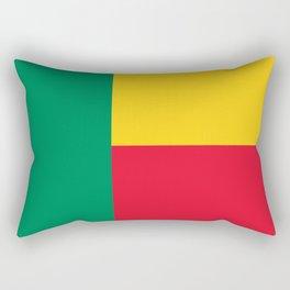 Flag of Benin Rectangular Pillow
