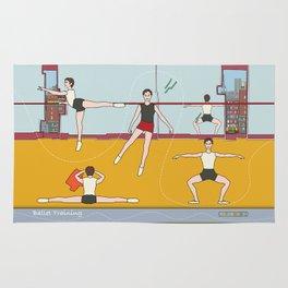 Ballet Training Rug