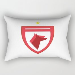 Dinamo Bucharest Icon Rectangular Pillow