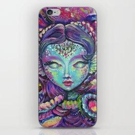 Indigo Mermaid Explore - Kids, fantasy, mermaids by Lana Chromium iPhone Skin