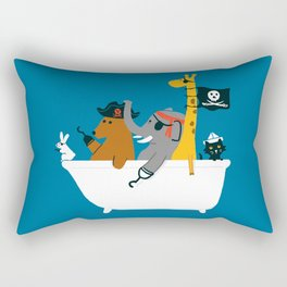 Everybody wants to be the pirate Rectangular Pillow