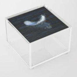 Angel Feather by Teresa Thompson Acrylic Box