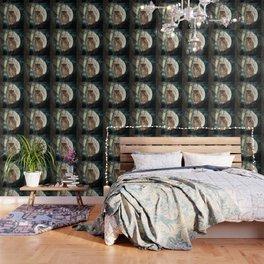 Great Horned Owl Bird Moon Tree A138 Wallpaper