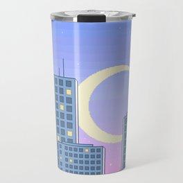 The City Never Sleeps Travel Mug