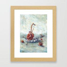 travel umbrella Framed Art Print