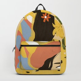 Sunflowers In Your Face Backpack