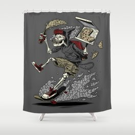 PARTY UNTIL DEATH Shower Curtain