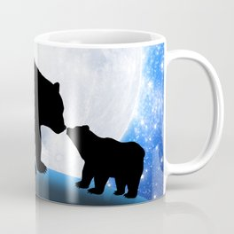 Moon and bears Coffee Mug