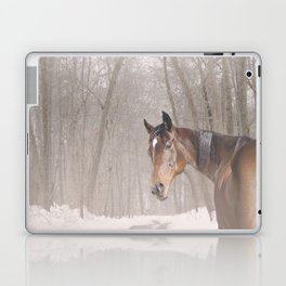 Gulliver in the snow Laptop & iPad Skin