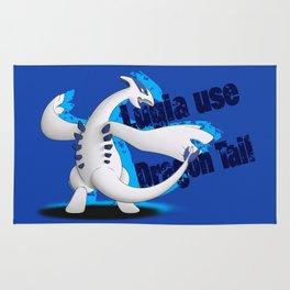 Lugia use Dragon Tail - blue vrs. Rug