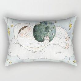 monstre à l'oeuf Rectangular Pillow