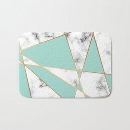 Marble Geometry 055 Bath Mat