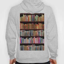 Antique books ft Jane Austen & more Hoody