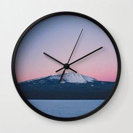 Winter Sunrise  Wall Clock