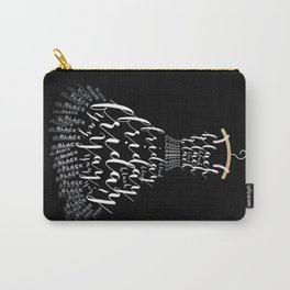 The Little Black Frid Dress Carry-All Pouch