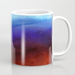 Ruby Tides - Original Abstract Art Coffee Mug