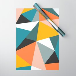 Modern Geometric 36 Wrapping Paper